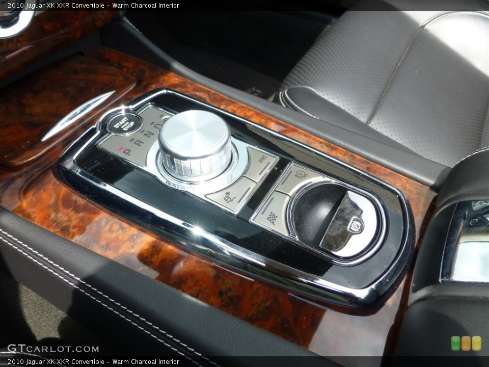 Warm Charcoal Interior Transmission for the 2010 Jaguar XK XKR Convertible #93624773