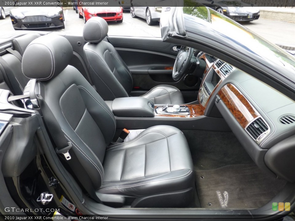 Warm Charcoal Interior Front Seat for the 2010 Jaguar XK XKR Convertible #93624839