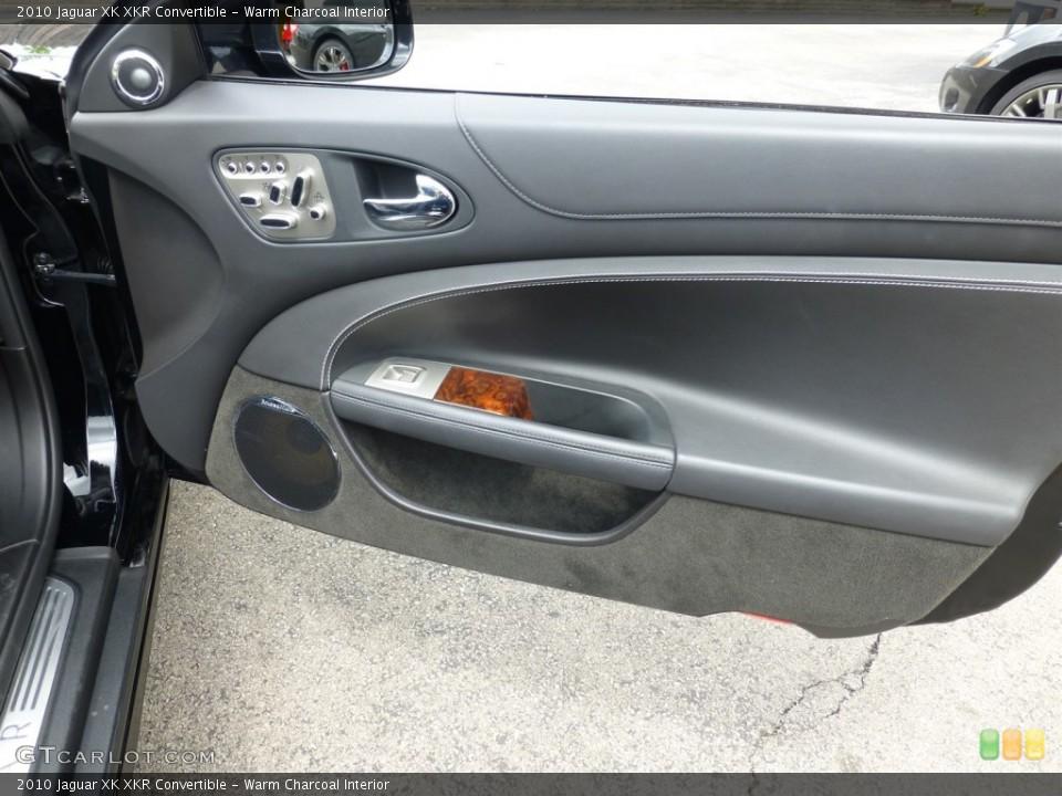 Warm Charcoal Interior Door Panel for the 2010 Jaguar XK XKR Convertible #93624854
