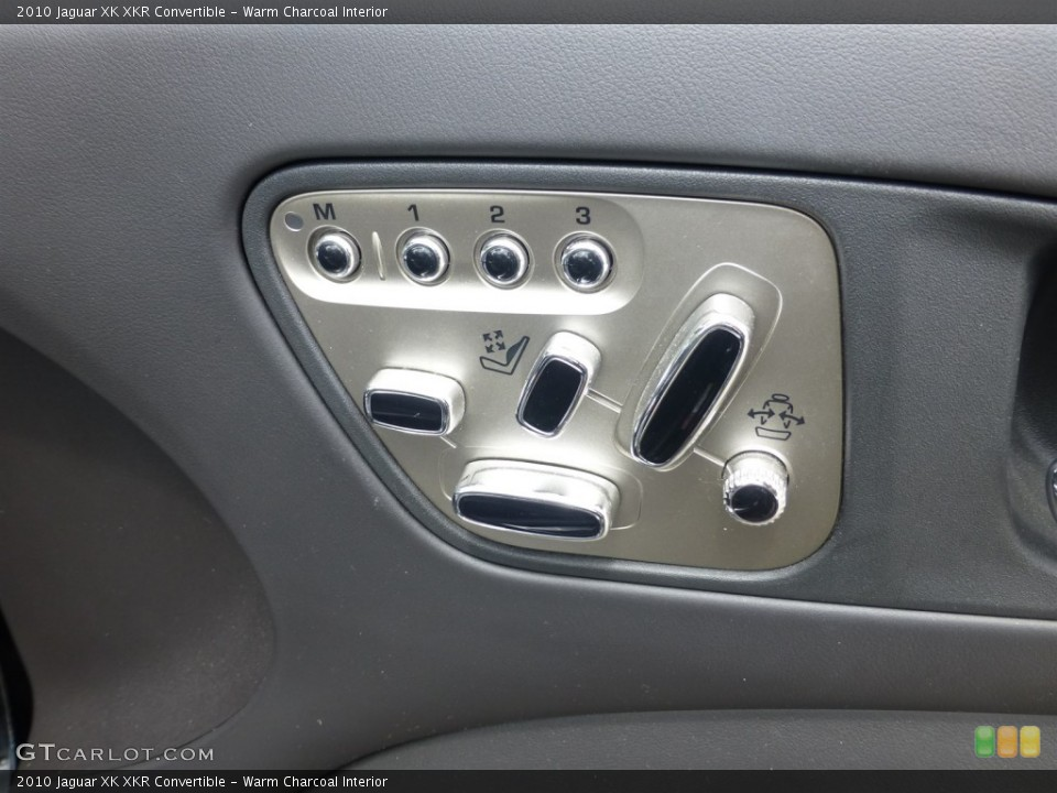 Warm Charcoal Interior Controls for the 2010 Jaguar XK XKR Convertible #93624872