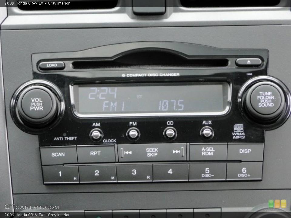 Gray Interior Audio System for the 2009 Honda CR-V EX #94129676