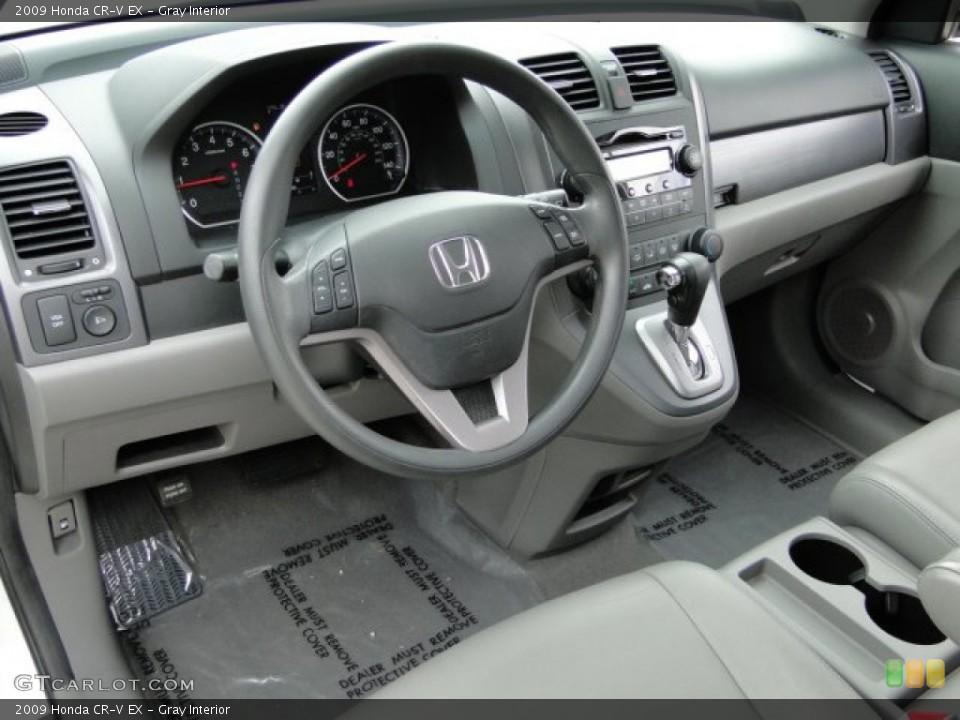 Gray Interior Photo for the 2009 Honda CR-V EX #94129718