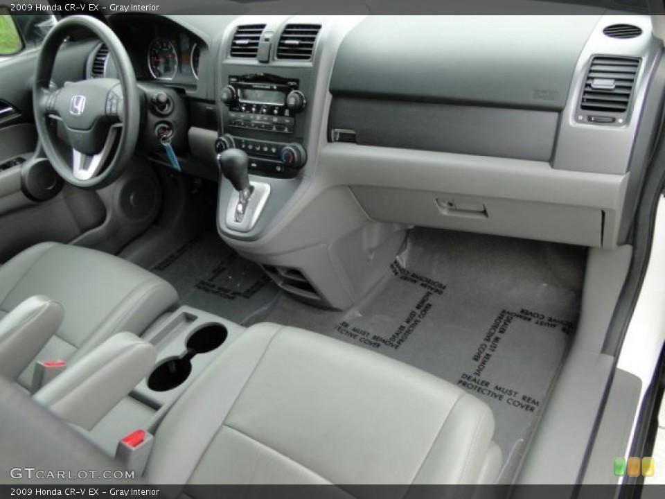 Gray Interior Dashboard for the 2009 Honda CR-V EX #94129721
