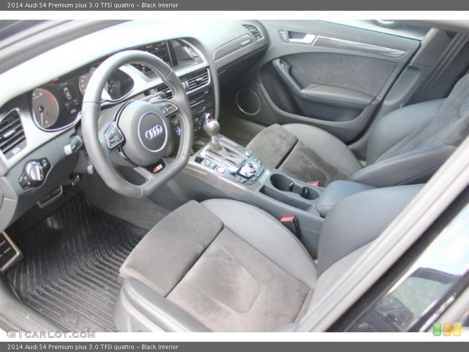 Black 2014 Audi S4 Interiors