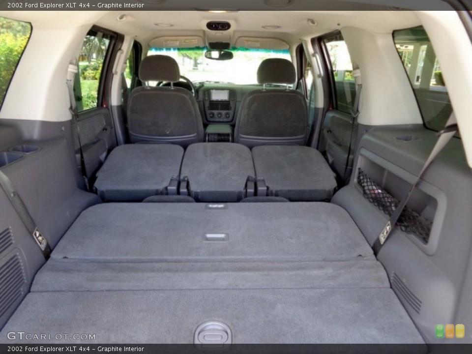 Graphite Interior Trunk for the 2002 Ford Explorer XLT 4x4 #94625983