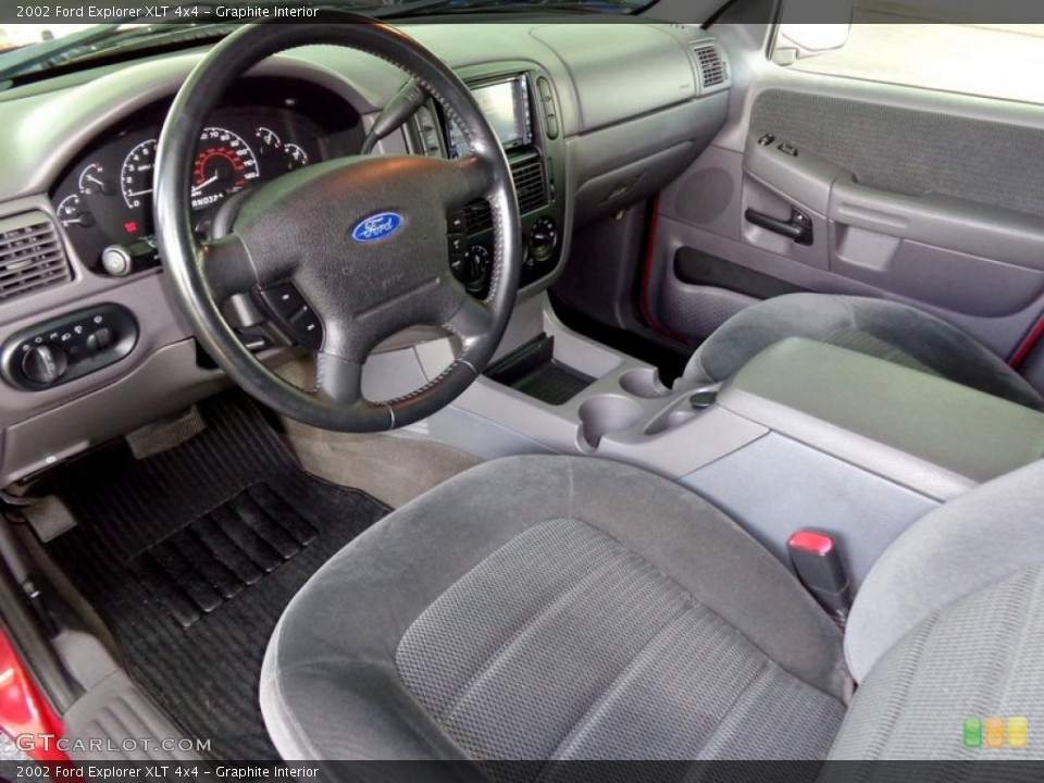 Graphite 2002 Ford Explorer Interiors