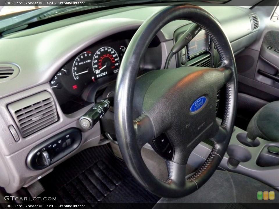 Graphite Interior Steering Wheel for the 2002 Ford Explorer XLT 4x4 #94626838