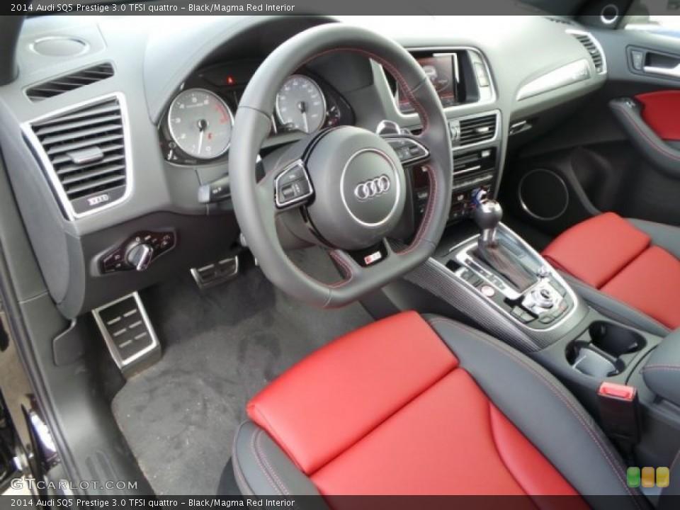 Black Magma Red 2014 Audi Sq5