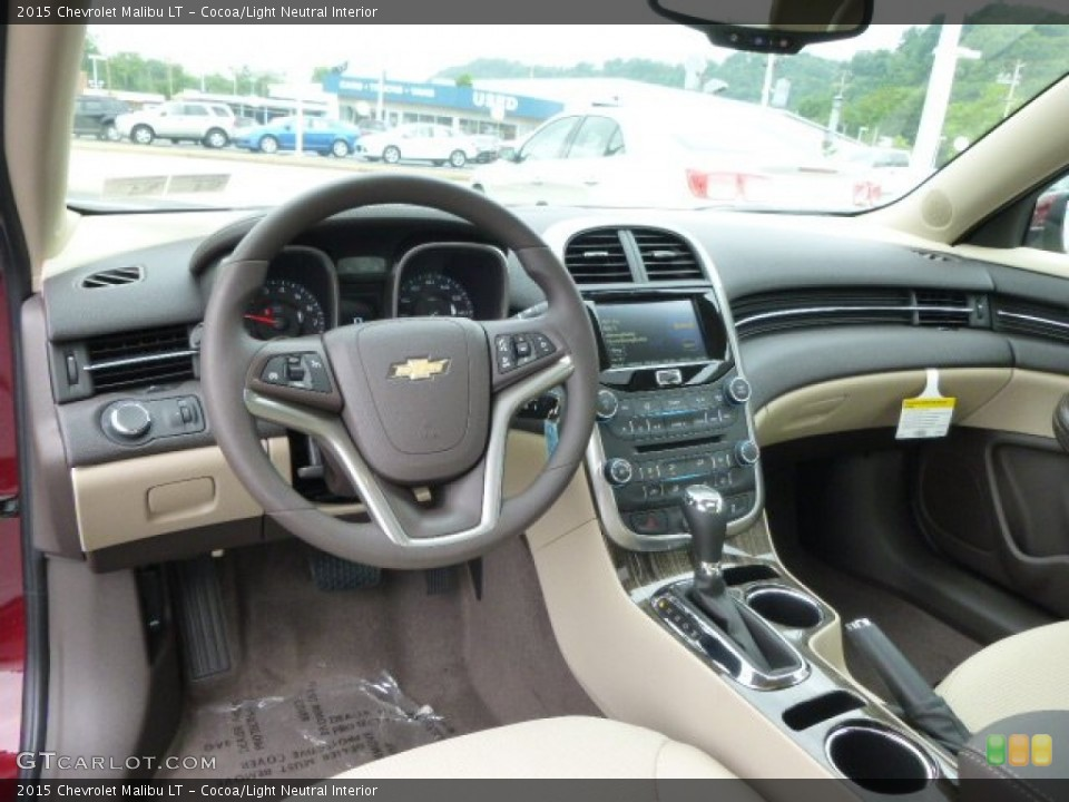 Cocoa/Light Neutral 2015 Chevrolet Malibu Interiors