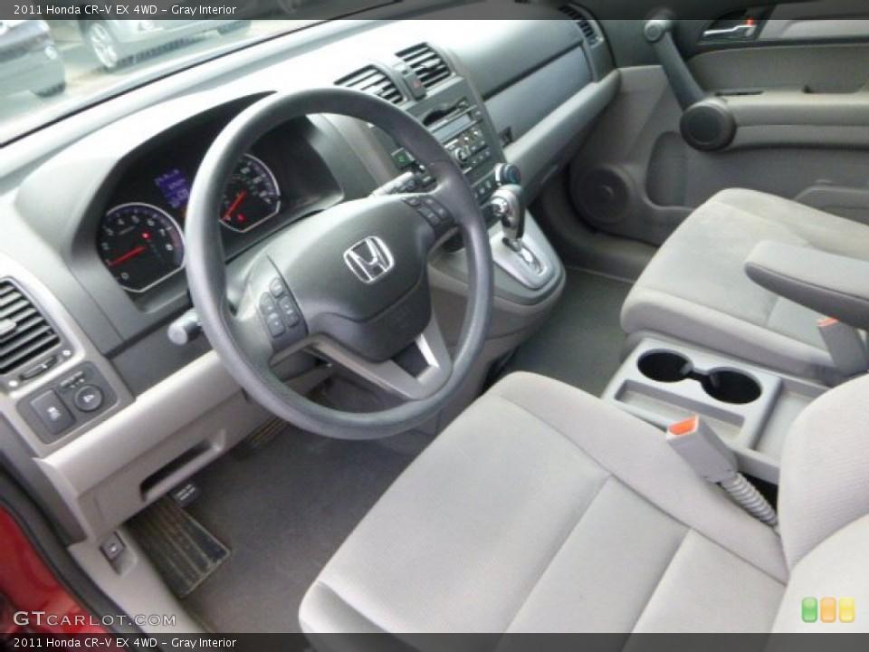 Gray 2011 Honda CR-V Interiors