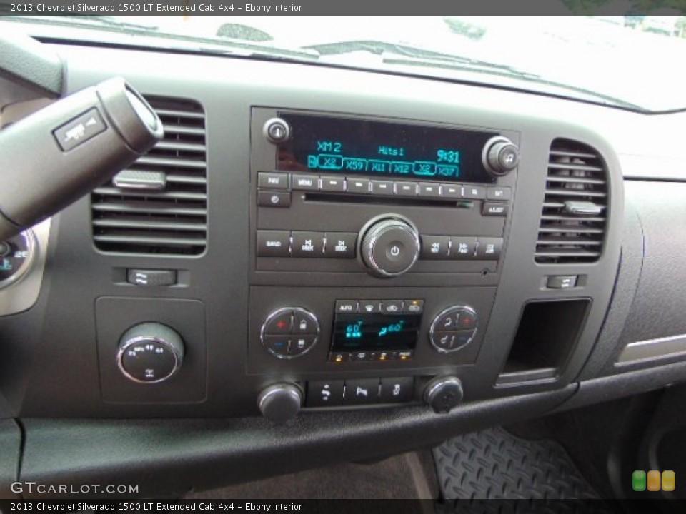 Ebony Interior Controls for the 2013 Chevrolet Silverado 1500 LT Extended Cab 4x4 #95203319