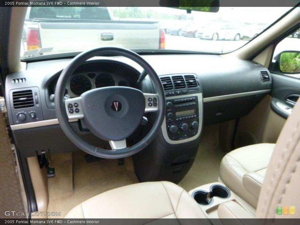 Cashmere Interior Photo for the 2005 Pontiac Montana SV6 FWD #95814039