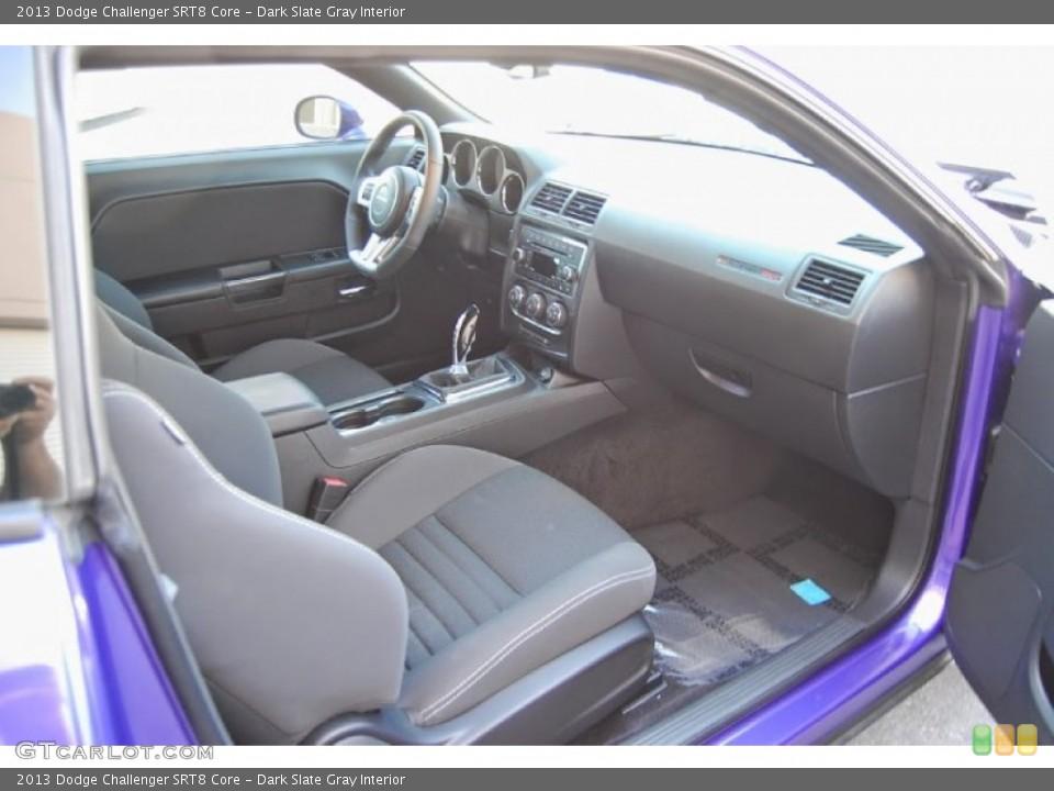 Dark Slate Gray Interior Photo for the 2013 Dodge Challenger SRT8 Core #95948405