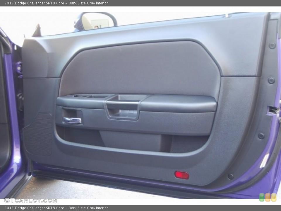 Dark Slate Gray Interior Door Panel for the 2013 Dodge Challenger SRT8 Core #95948477