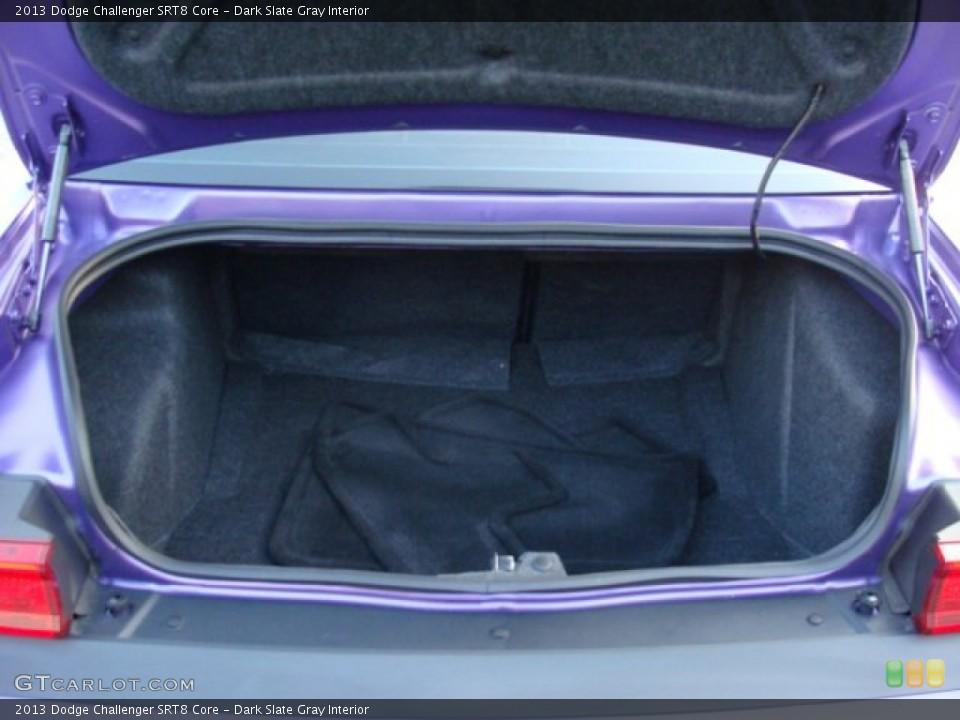 Dark Slate Gray Interior Trunk for the 2013 Dodge Challenger SRT8 Core #96070416