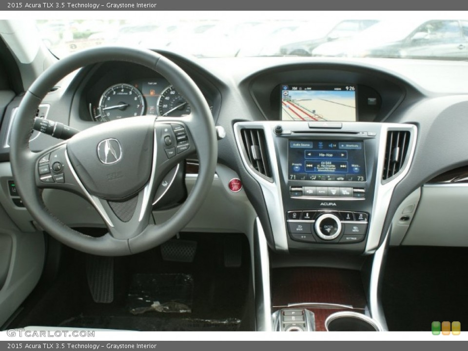 Graystone Interior Dashboard For The 2015 Acura TLX 3.5 Technology #96275067