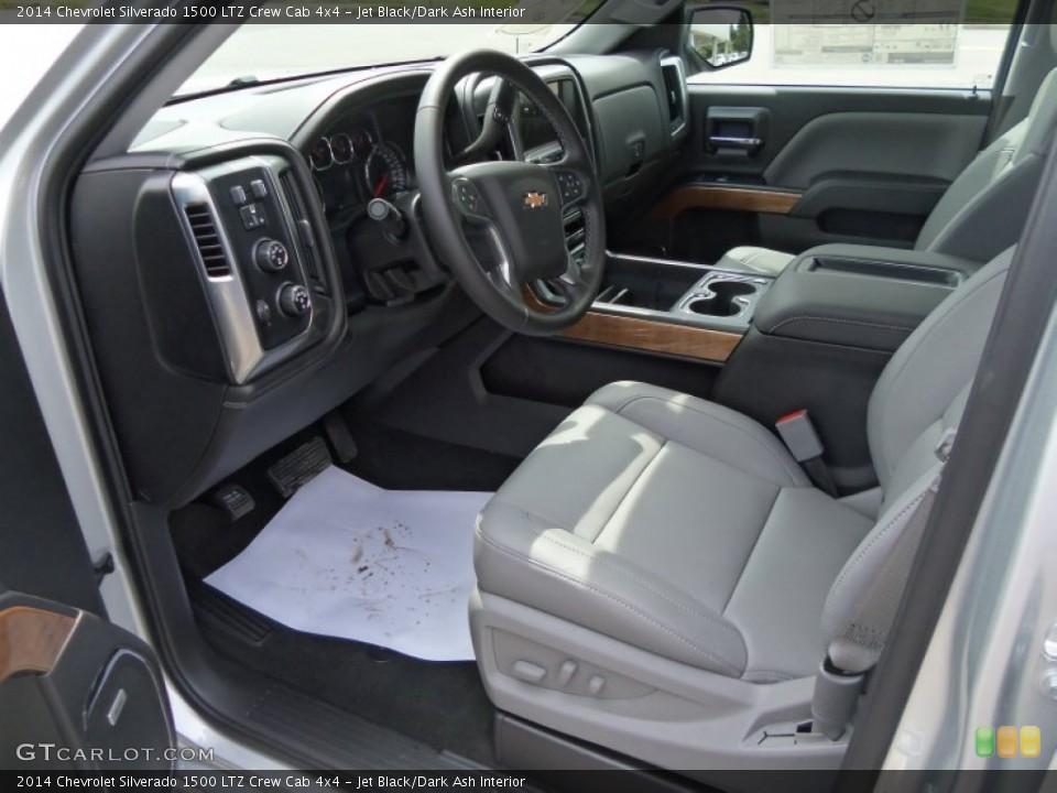 Jet Black/Dark Ash 2014 Chevrolet Silverado 1500 Interiors