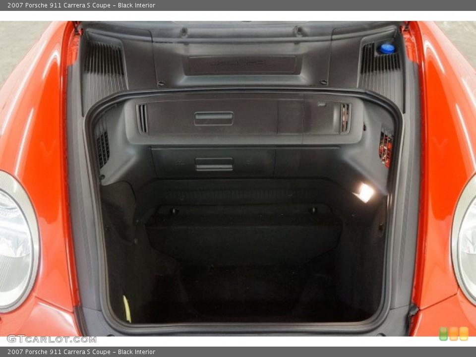 Black Interior Trunk for the 2007 Porsche 911 Carrera S Coupe #96908683