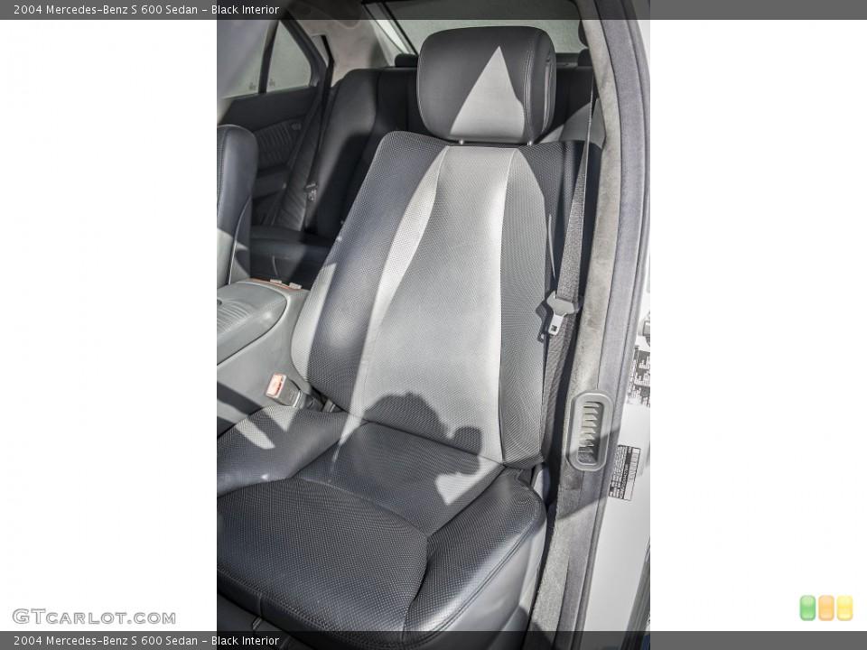Black 2004 Mercedes-Benz S Interiors