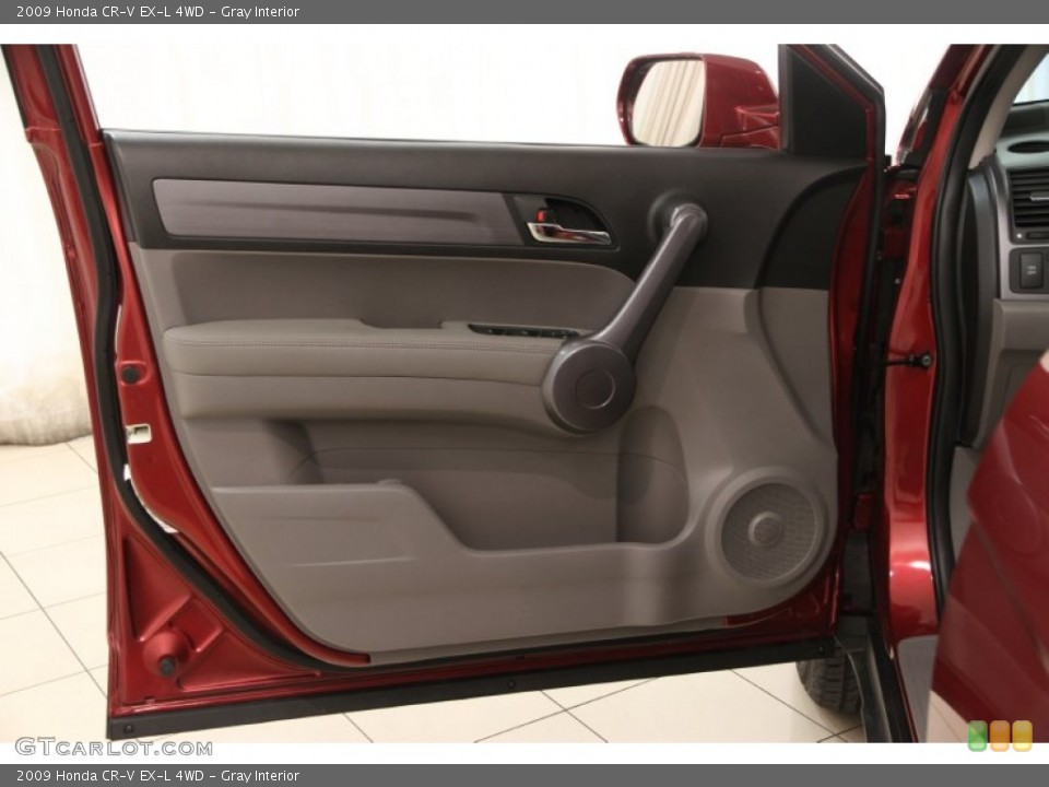 Gray Interior Door Panel for the 2009 Honda CR-V EX-L 4WD #97809228