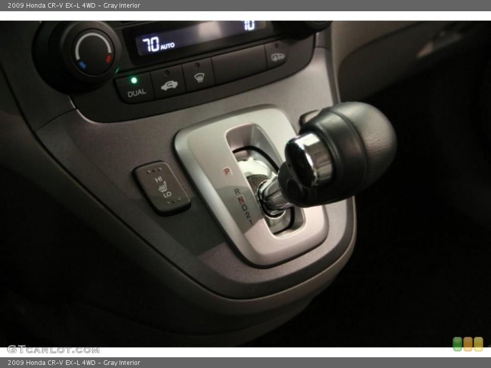 Gray Interior Transmission for the 2009 Honda CR-V EX-L 4WD #97809395