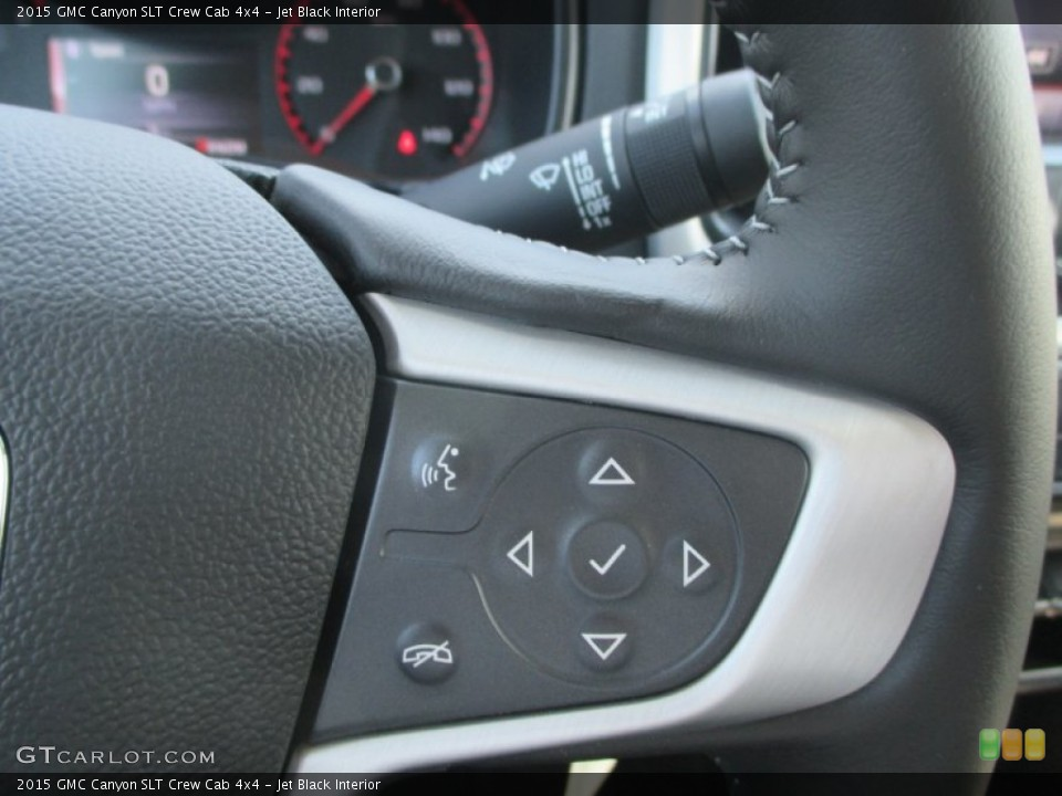 Jet Black Interior Controls for the 2015 GMC Canyon SLT Crew Cab 4x4 #97847676