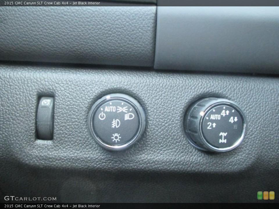 Jet Black Interior Controls for the 2015 GMC Canyon SLT Crew Cab 4x4 #97847793