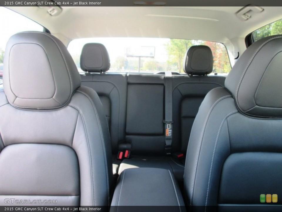 Jet Black Interior Photo for the 2015 GMC Canyon SLT Crew Cab 4x4 #97848084