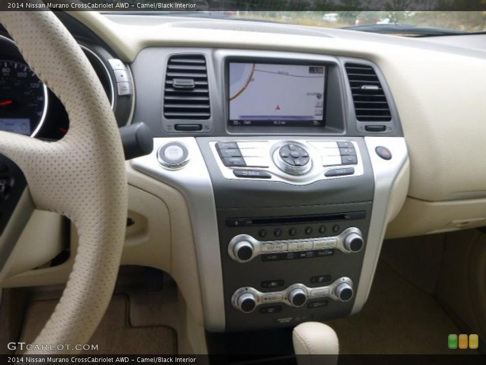 Camel/Black 2014 Nissan Murano Interiors