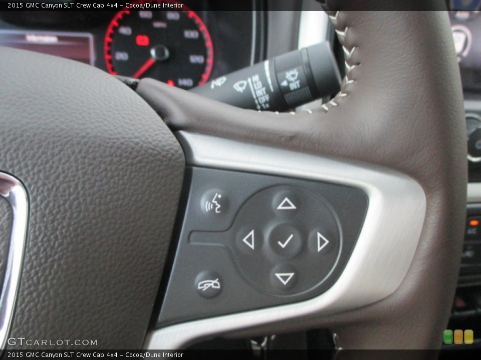 Cocoa/Dune Interior Controls for the 2015 GMC Canyon SLT Crew Cab 4x4 #98208592