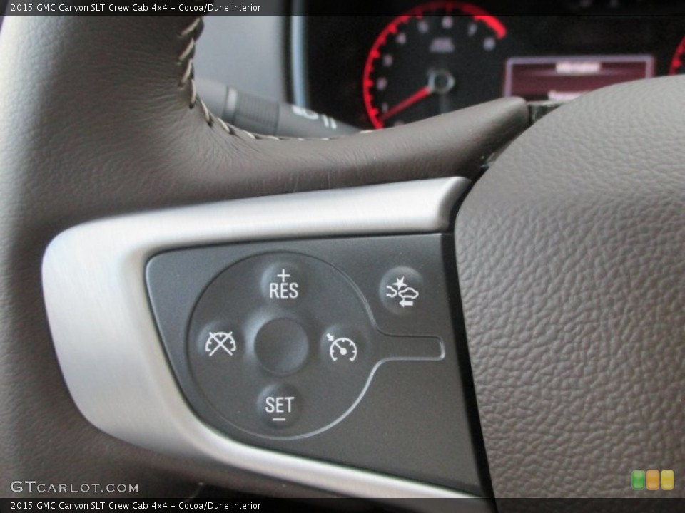 Cocoa/Dune Interior Controls for the 2015 GMC Canyon SLT Crew Cab 4x4 #98208620