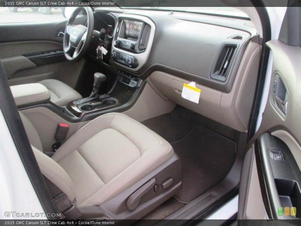 Cocoa/Dune Interior Front Seat for the 2015 GMC Canyon SLT Crew Cab 4x4 #98208915