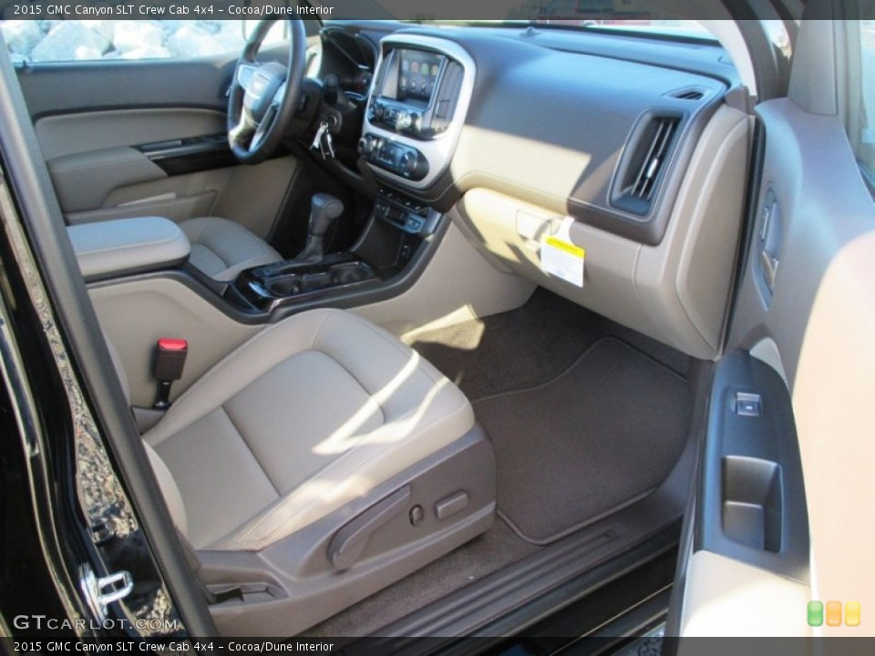 Cocoa/Dune Interior Dashboard for the 2015 GMC Canyon SLT Crew Cab 4x4 #98937637