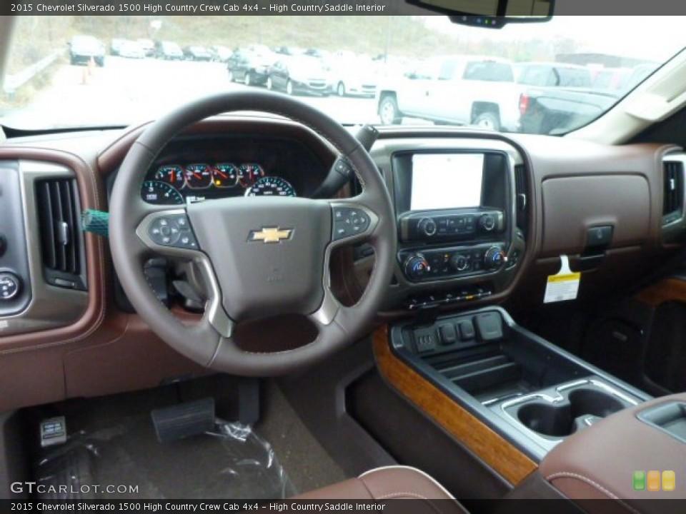 High Country Saddle 2015 Chevrolet Silverado 1500 Interiors
