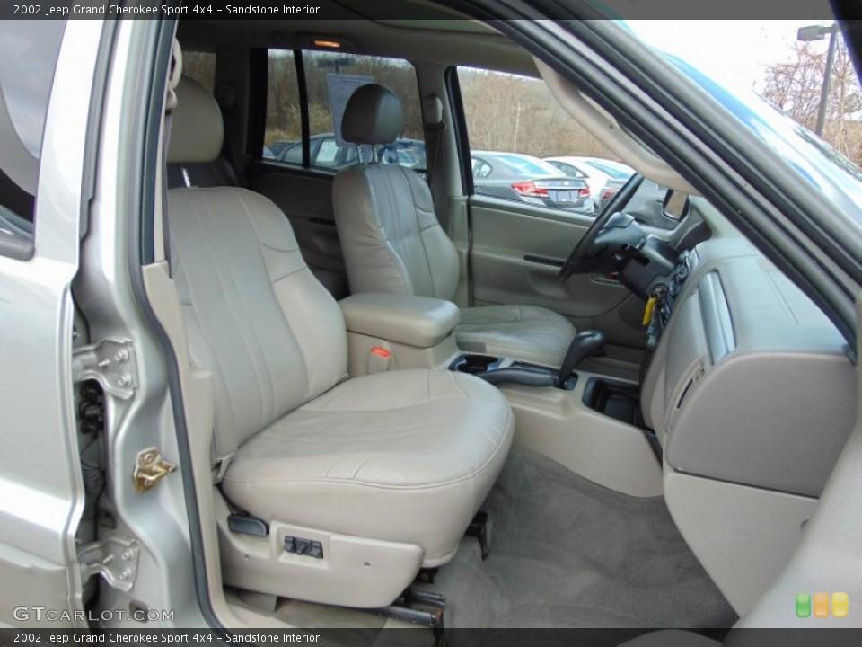 Sandstone 2002 Jeep Grand Cherokee Interiors