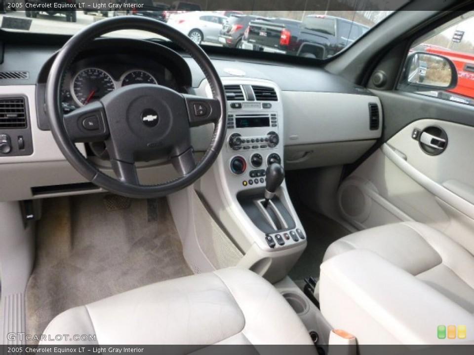 Light Gray 2005 Chevrolet Equinox Interiors