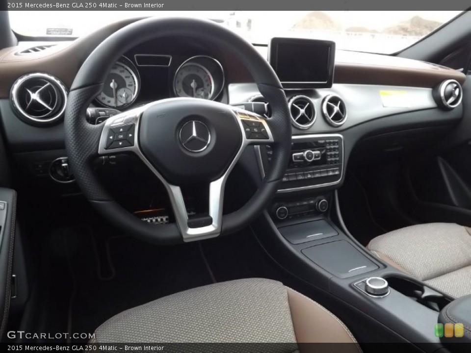 Brown 2015 Mercedes-Benz GLA Interiors