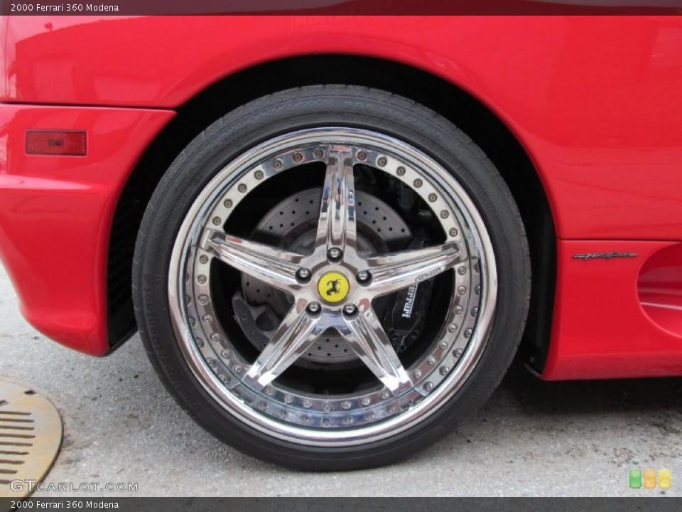 2000 Ferrari 360 Wheels and Tires