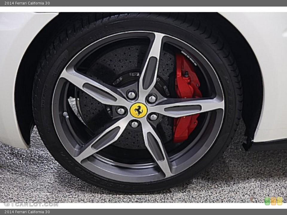 2014 Ferrari California Wheels and Tires