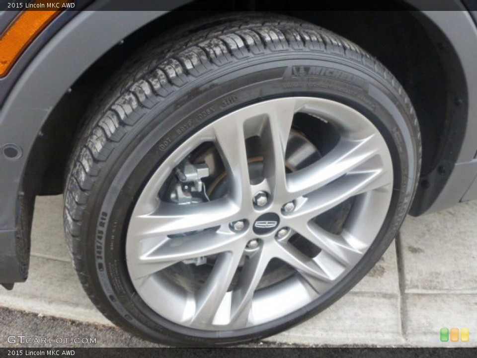 2015 Lincoln MKC AWD Wheel and Tire Photo #101304591