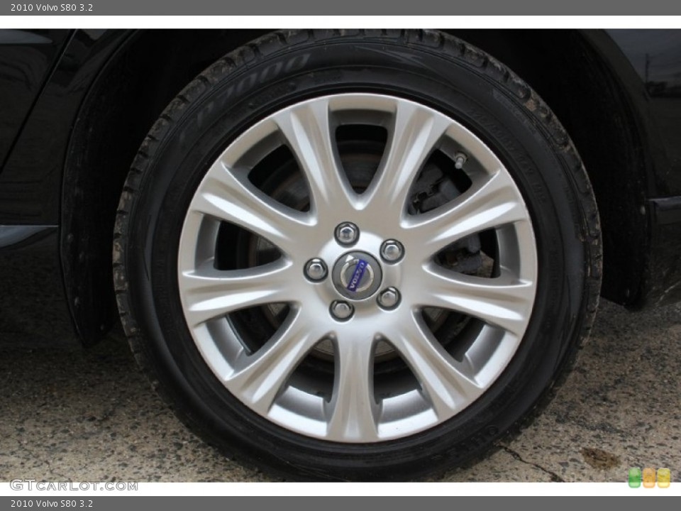 2010 Volvo S80 Wheels and Tires