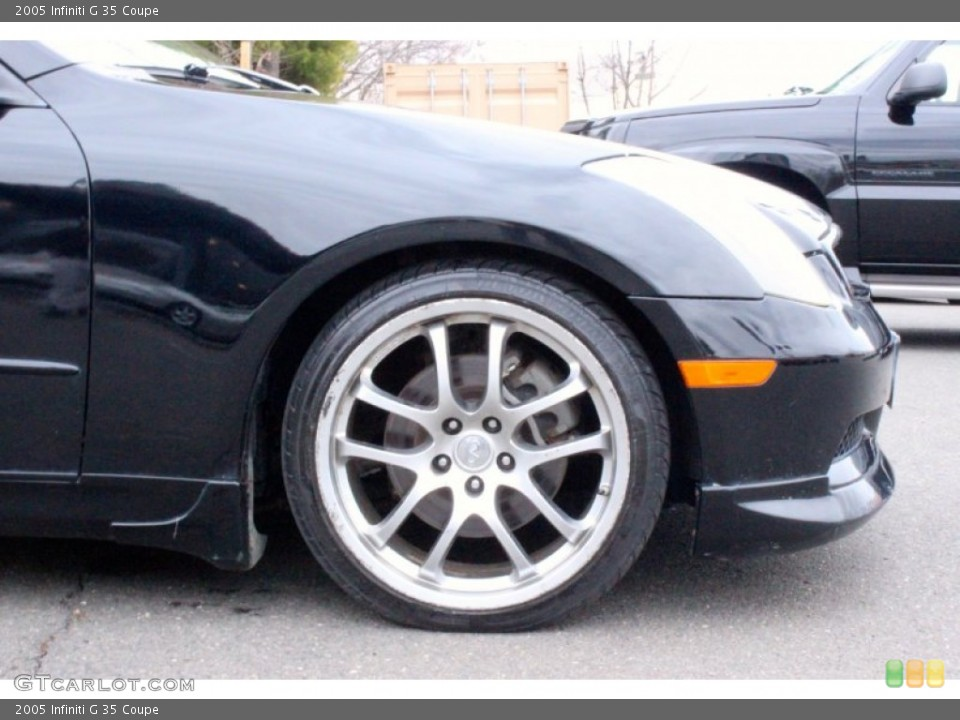 2005 Infiniti G Wheels and Tires