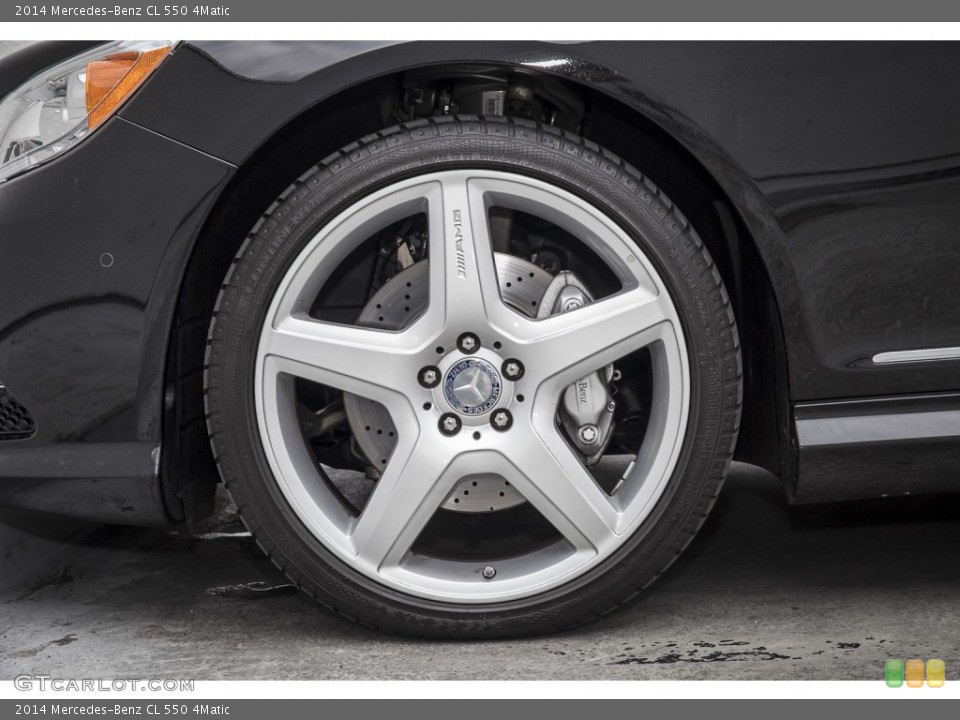 2014 Mercedes-Benz CL Wheels and Tires