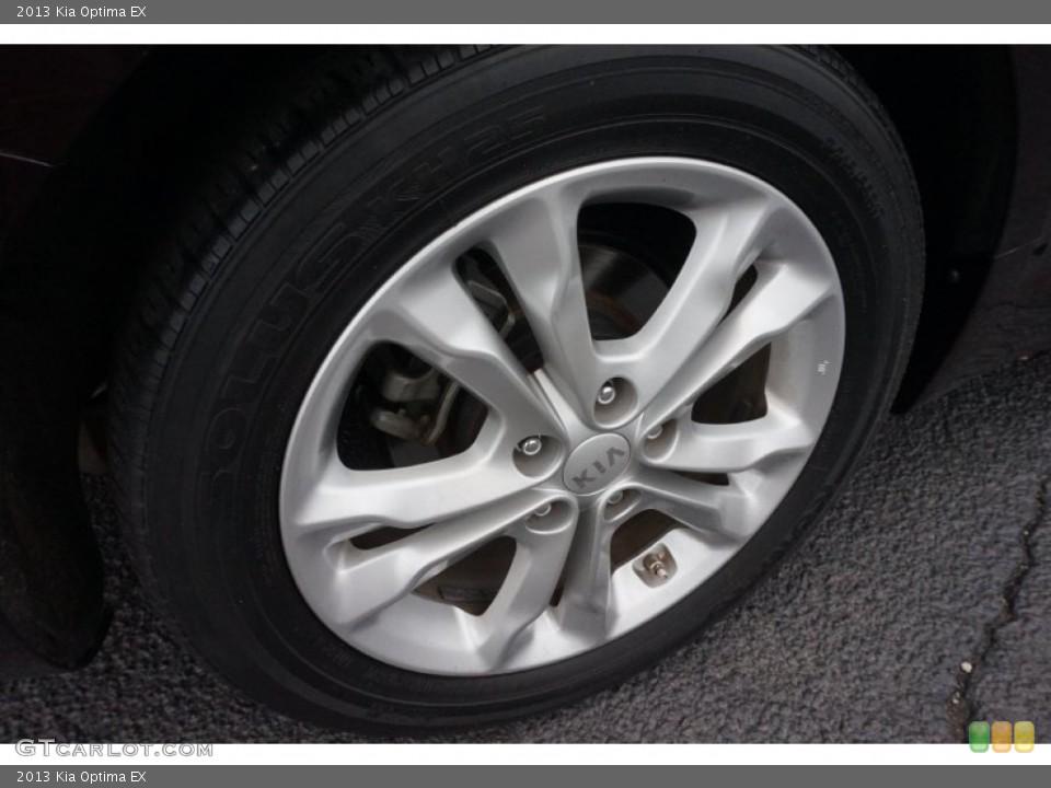 2013 Kia Optima Wheels and Tires