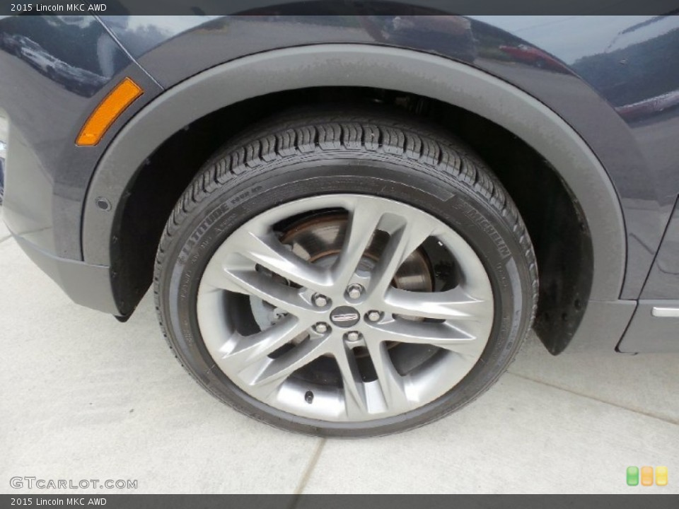 2015 Lincoln MKC AWD Wheel and Tire Photo #106226335