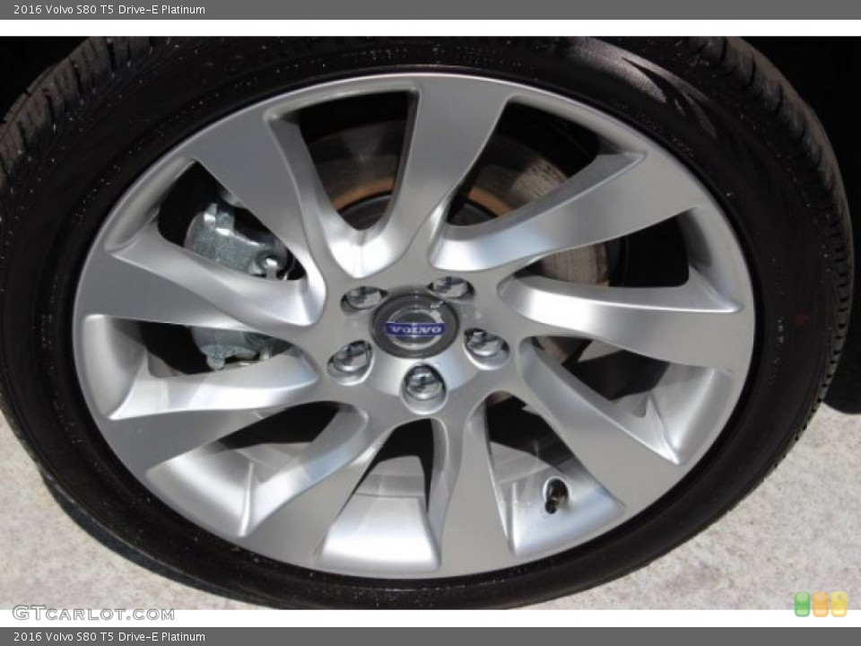 2016 Volvo S80 Wheels and Tires