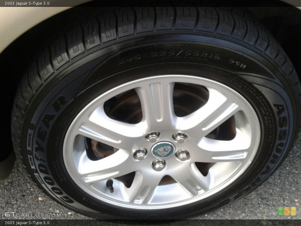 2003 Jaguar S-Type Wheels and Tires