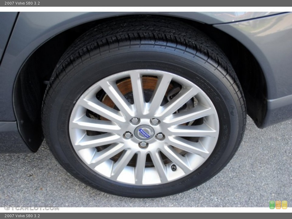 2007 Volvo S80 Wheels and Tires