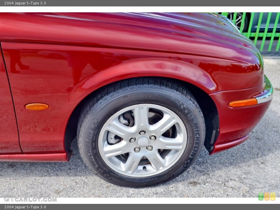 2004 Jaguar S-Type Wheels and Tires