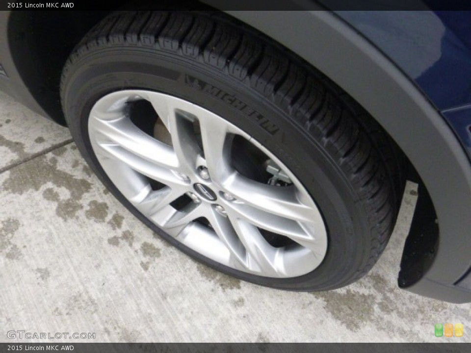 2015 Lincoln MKC AWD Wheel and Tire Photo #107658191